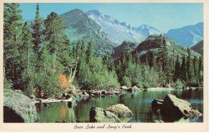 US    PC3986 BEAR LAKE & LONG'S PEAK, ROCKY MOUNTAIN NATIONAL PARK, COLORADO