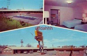 SAHARA SANDS MOTEL 1973 Hi-Way 66 TUCUMCARI, NM. 1973 Mr and Mrs M M Whittington