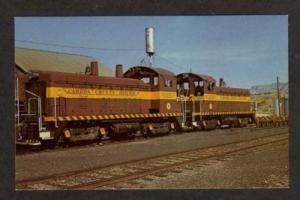 UT Carbon County Railroad Train COLUMBIA JUNCTION UTAH