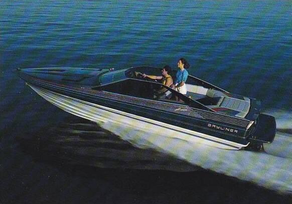 Boats Bayliner 2250 Cobra Sport Boat