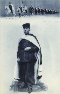algeria, Armed TUAREG TOUAREG on Horses, Unknown Leader (1910s) (5)
