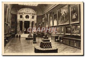 Old Postcard Chateau de Chantilly The Paintings Gallery