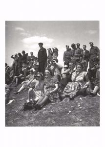 Postcard This was the War Time Derby July 5th 1941 by Bill Brandt #57023