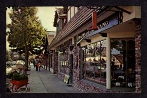 CA View Jensen Store SALVANG CALIFORNIA Postcard