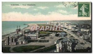 Old Postcard Dieppe Vue Generale