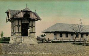 indonesia, SUMATRA, LHO-SEUMAWE, Aceh Atjeh, Telephone Office, School (1910s)