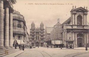 DIJON, Eglise Saint-Michel et Bourse du Commerce, Cote d´Or, France, 00-10s