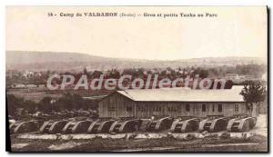Postcard From Old Camp Valdahon Big & Small Tanks In Park