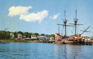 MA - Plymouth. The Mayflower II