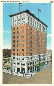 CA, Fresno, California, Mattel Building, Pacific Novelty No. 29946