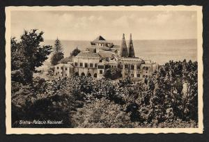 Sintra National Palace PORTUGAL Unused c1920s