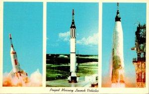 Florida John F Kennedy Space Center NASA Project Mercury Launch Vehicles
