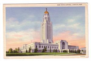New State Capitol, Lincoln, Nebraska
