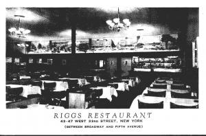 New York City Rigg's Restaurant