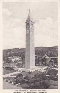The Campanile University Of California Berkeley California Albertype