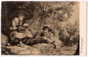 Rembrandt Jubileum, Uilenspiegel, 1906