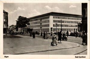 CPA AK Hagen i. W. - Stadt-Sparkasse GERMANY (857786)