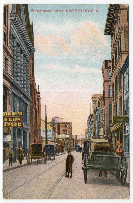 Providence, R.I., Westminster Street