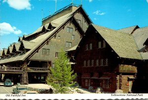 Yellowstone National Park Old Faithful Inn