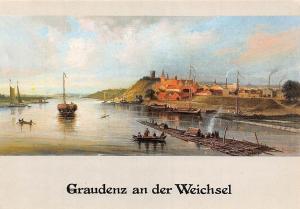 Graudenz an der Weichsel Olgemalde von Gustav Breuning, Schloss Wolbeck