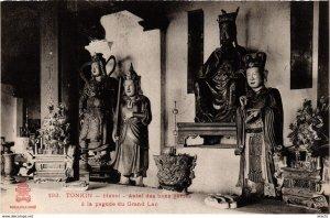 CPA INDOCHINA Hanoi Autel des bons genies VIETNAM (958688)