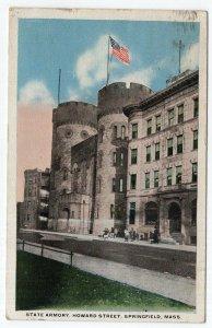 Springfield, Mass, State Armory, Howard Street