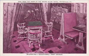 Pennsylvania Pottsville Coal Mine Tap Room At The Necho Allen Hotel