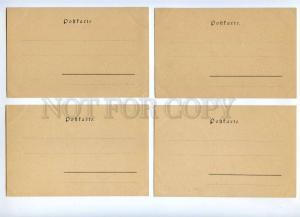 189345 Ladies by TK Set 10 cards ART NOUVEAU PHILIPP & KRAMER