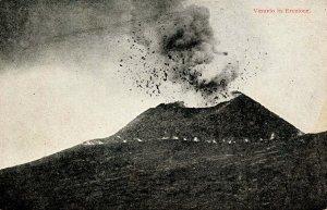 Italy - Mt Vesuvius Volcano Eruption