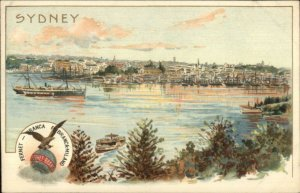 Sydney Australia - Fernet Branca Fernet-Branca Milano c1900 Postcard