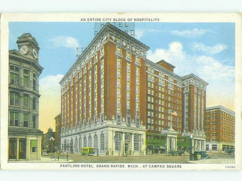 W-Border PANTLIND HOTEL Grand Rapids Michigan MI HQ4355