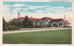 North Carolina Pinehurst Club House 1920 Curteich