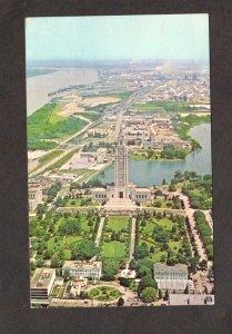 LA Aerial View Louisiana State Capitol Baton Rouge Postcard
