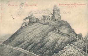 Czech Republic - Gruss aus dem Riesengebirge Schneekoppe 02.56