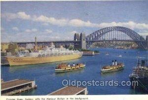 Circular Quay Enlarged Continental Size Ship Unused