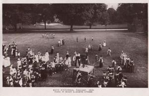 Speech In Queen Elizabeth II Episode 1909 Bath Pageant RPC Postcard