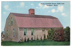 Duxbury, Mass, Myles Standish House, Built 1666