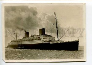402321 GERMANY ship Europa 1934 year photo RPPC