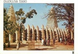 Burkina Faso Bobo Dioulasso mosque postcard