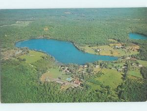 Unused Pre-1980 LAKE SCENE Yulan New York NY F3081