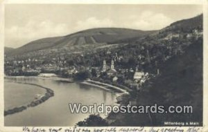 Miltenberg a Main Germany Postal Used Unknown