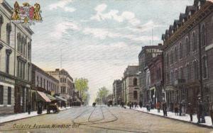 WINDSOR , Ontario , Canada , PU-1907 ; Oulette Avenue