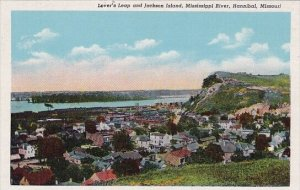 Lovers Leap And Jackson Island Mississippi River Hannibal Missour