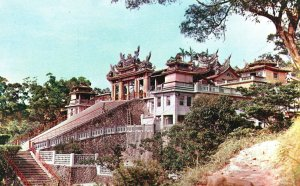 Vintage Postcard Chih-nan Temple Taoist Taipei Taiwan
