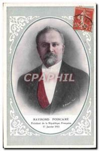Old Postcard Raymond Poincare President of the Republic