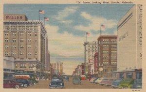 LINCOLN , Nebraska , 1930-40s ; O Street