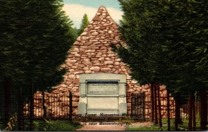 Pennsylvania Mercersburg State Forest Monument Marking The Birthplace Of Pres...