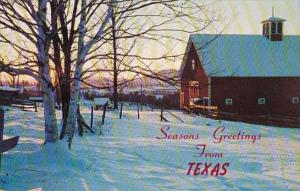 Seasons Greetings From Texas