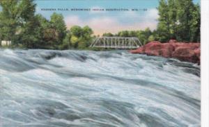 Wisconsin Keshena Falls Menominee Indian Reservation
