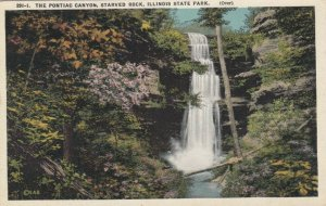 STARVED ROCK State Park, Illinois, 1900-10s; The Pontiac Canyon